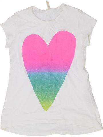Camiseta de manga corta niña BENETTON blanco 7 años verano #1357478_1