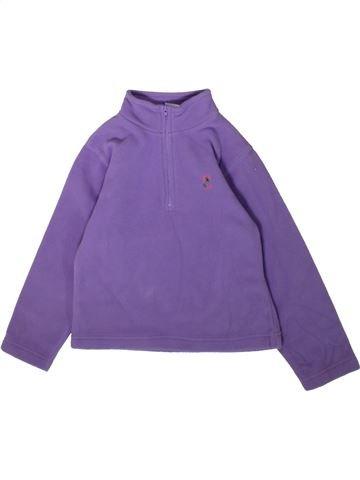 Pull fille SANS MARQUE violet 6 ans hiver #1357648_1