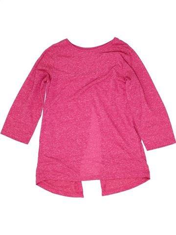 T-shirt manches courtes fille MISS E-VIE rose 12 ans été #1358030_1