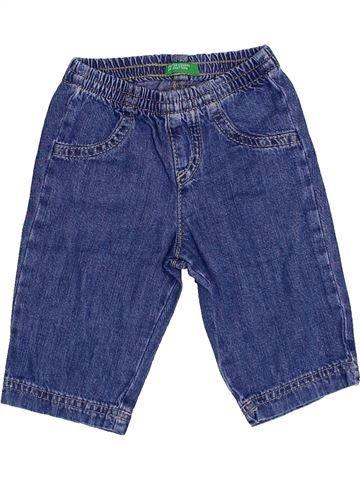 Tejano-Vaquero niño BENETTON azul 3 meses invierno #1359886_1