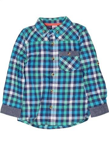 Chemise manches longues garçon MINI CLUB bleu 5 ans hiver #1360263_1