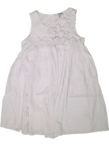 Robe fille IKKS blanc 10 ans été #1360605_1