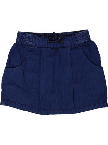 Falda niña MONOPRIX azul 3 años verano #1360695_1