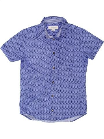Chemise manches courtes garçon RIVER ISLAND violet 8 ans été #1360833_1