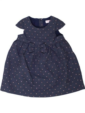 Robe fille LILI GAUFRETTE bleu 2 ans hiver #1360906_1