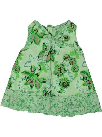 Robe fille MARÈSE vert 3 mois été #1360954_1