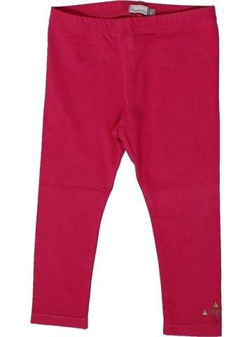 Legging niña CATIMINI rojo 2 años verano #1361227_1