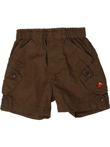 Short-Bermudas niño P'TIT BISOU marrón 3 meses verano #1361502_1