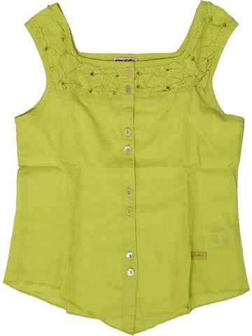 Camiseta sin mangas niña ELIANE ET LENA verde 8 años verano #1361684_1