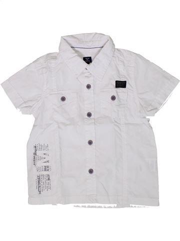 Camisa de manga corta niño TERRE DE MARINS blanco 3 años verano #1361929_1