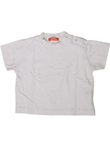 T-shirt manches courtes garçon LA REDOUTE CRÉATION blanc 2 ans été #1362047_1