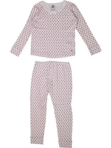 Pijama de 2 piezas niña PETIT BATEAU rosa 3 años verano #1362245_1