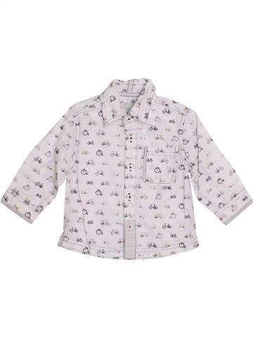 Chemise manches longues garçon MONSOON blanc 18 mois hiver #1362380_1