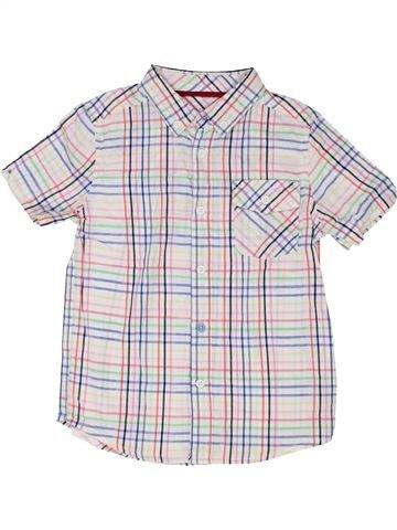 Chemise manches courtes garçon BEN SHERMAN blanc 6 ans été #1362393_1