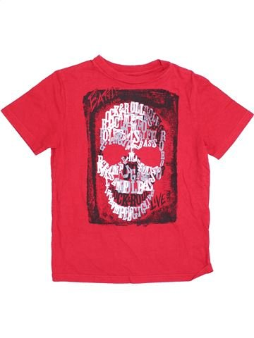 Camiseta de manga corta niño GAP rosa 7 años verano #1362448_1