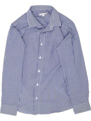 Chemise manches longues garçon BLUEZOO bleu 10 ans hiver #1362631_1