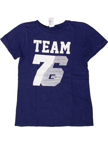T-shirt manches courtes garçon DÉCATHLON bleu 8 ans été #1362867_1