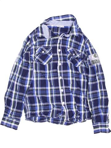 Chemise manches longues garçon OKAY bleu 13 ans hiver #1363186_1