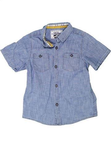 Chemise manches courtes garçon TRUE DUDES bleu 5 ans été #1363331_1