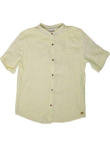Chemise manches courtes garçon ZARA vert 14 ans été #1363360_1