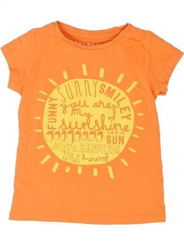 T-shirt manches courtes garçon NUTMEG orange 3 ans été #1363538_1