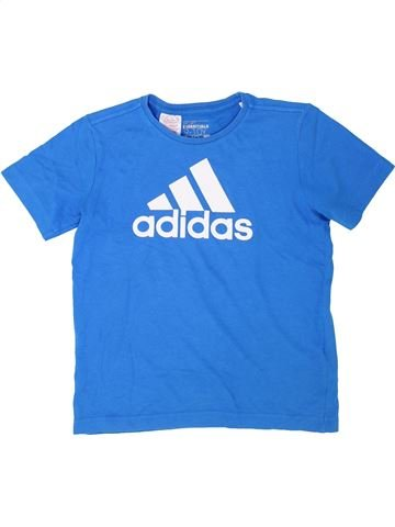Camiseta de manga corta niño ADIDAS azul 10 años verano #1363569_1
