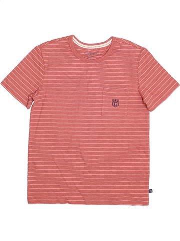 T-shirt manches courtes garçon CHEROKEE rose 10 ans été #1363706_1