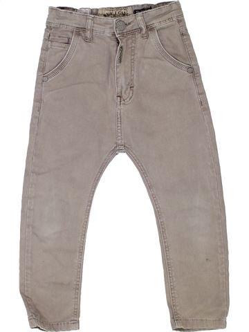 Pantalon garçon SMALL GANG gris 4 ans été #1363871_1