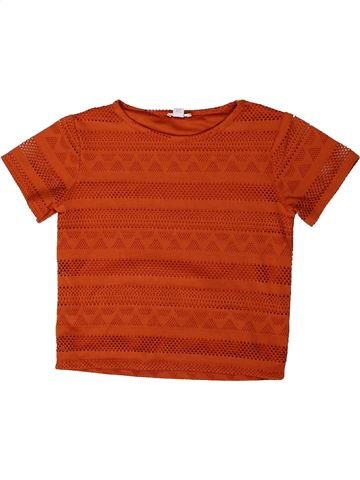 T-shirt manches courtes fille RIVER ISLAND rouge 10 ans été #1363936_1