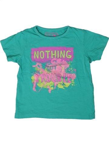 T-shirt manches courtes fille PEP&CO vert 4 ans été #1363950_1