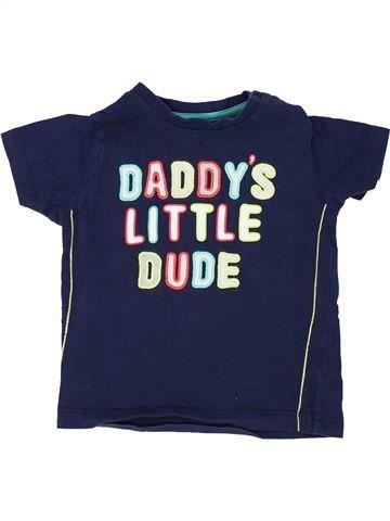 T-shirt manches courtes garçon NUTMEG bleu 2 ans été #1364278_1