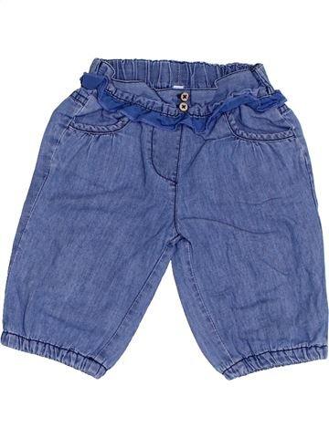 Pantalon fille MON COEUR bleu 3 mois hiver #1364284_1