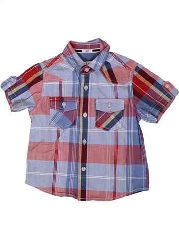Camisa de manga corta niño DEBENHAMS gris 4 años verano #1364443_1