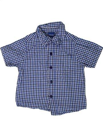 Chemise manches courtes garçon CHEROKEE bleu 4 ans été #1364918_1