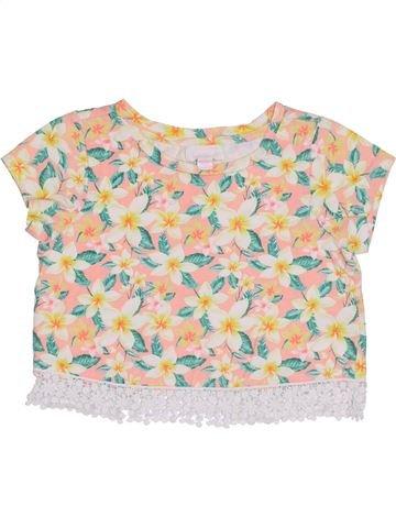 T-shirt manches courtes fille PUMPKIN PATCH beige 6 ans été #1364979_1