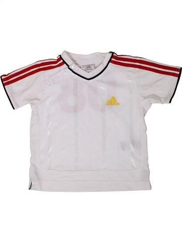 Maillot de sport garçon ADIDAS blanc 18 mois été #1365084_1