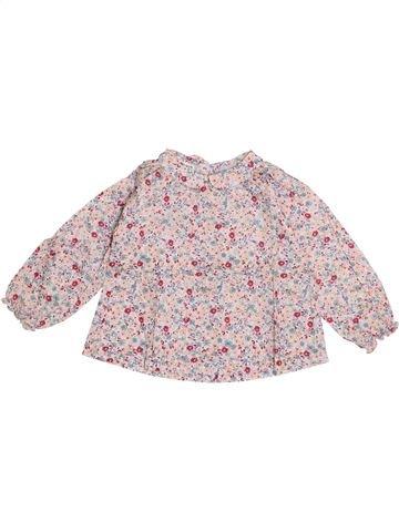 Blusa de manga larga niña CYRILLUS rosa 2 años invierno #1365919_1