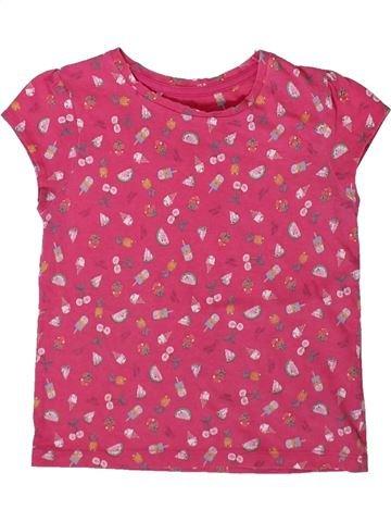 Camiseta de manga corta niña MOTHERCARE rosa 3 años verano #1366019_1
