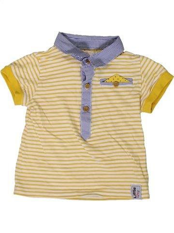 Polo de manga corta niño M&CO beige 12 meses verano #1366099_1