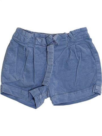Short-Bermudas niña CYRILLUS azul 3 años invierno #1366381_1