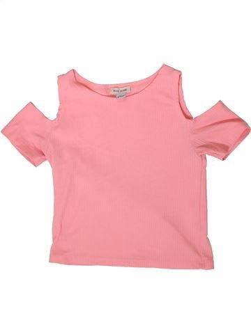 Camiseta de manga corta niña RIVER ISLAND rosa 10 años verano #1366567_1