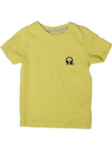 T-shirt manches courtes garçon NUTMEG jaune 3 ans été #1366705_1