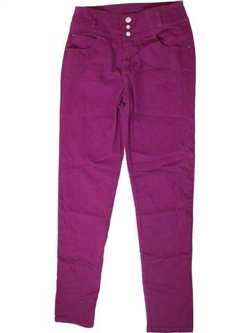 Pantalon fille KYLIE violet 13 ans hiver #1366736_1