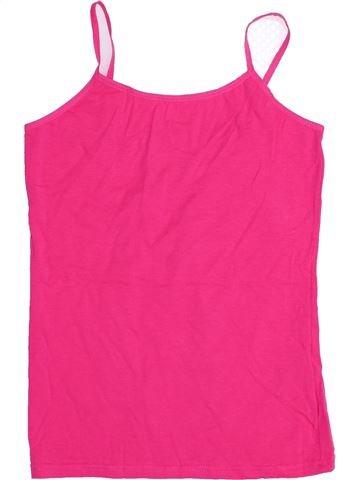 T-shirt sans manches fille SANS MARQUE rose 16 ans été #1366867_1