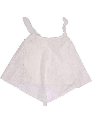 Camiseta sin mangas niña CANDY COUTURE blanco 16 años verano #1366910_1