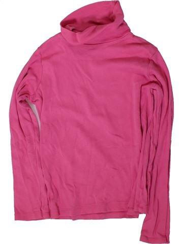 T-shirt col roulé fille CARTER'S rose 5 ans hiver #1367002_1