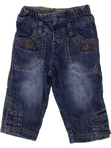 Pantalón niña CONFETTI azul 12 meses invierno #1367494_1