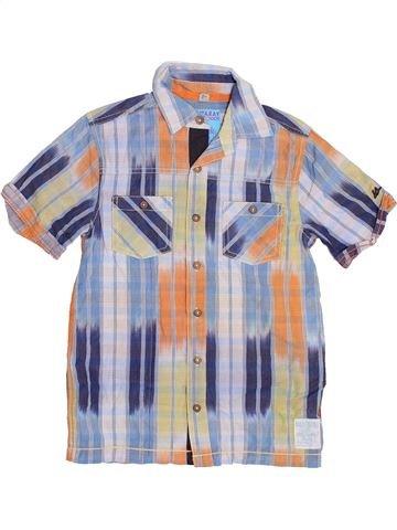 Chemise manches courtes garçon MANTARAY gris 9 ans été #1367644_1