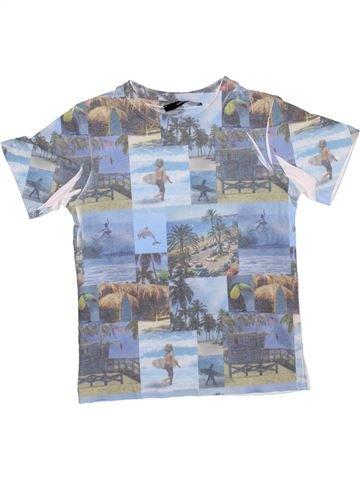 T-shirt manches courtes garçon GEORGE gris 6 ans été #1367650_1