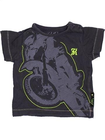 Camiseta de manga corta niño MOTHERCARE gris 6 meses verano #1367654_1